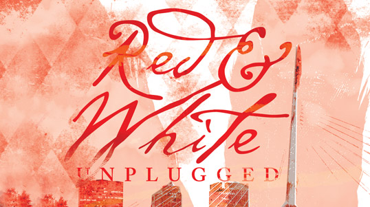RED AND WHITE UNPLUGGED